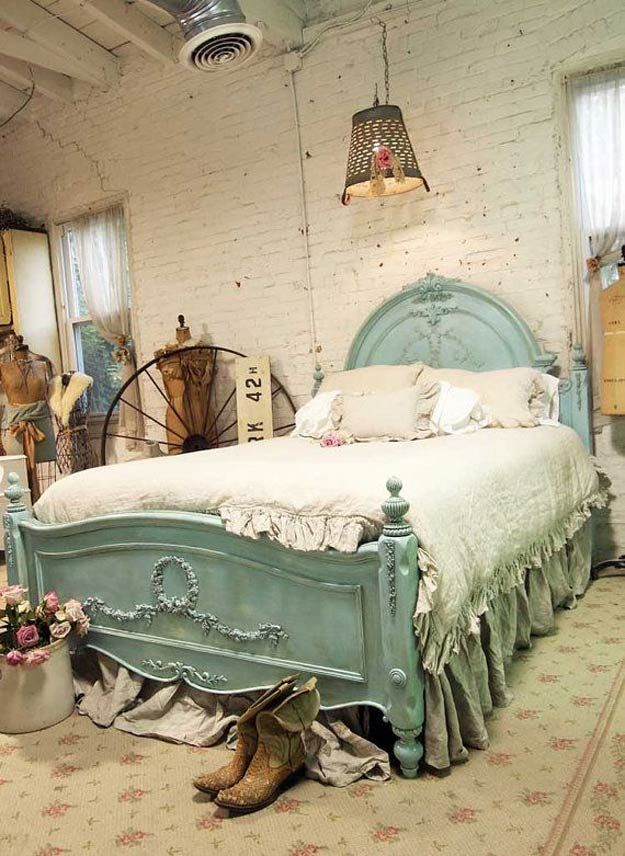 Vintage Decor: Vintage and Rustic Shabby Chic Bedroom Ideas ...
