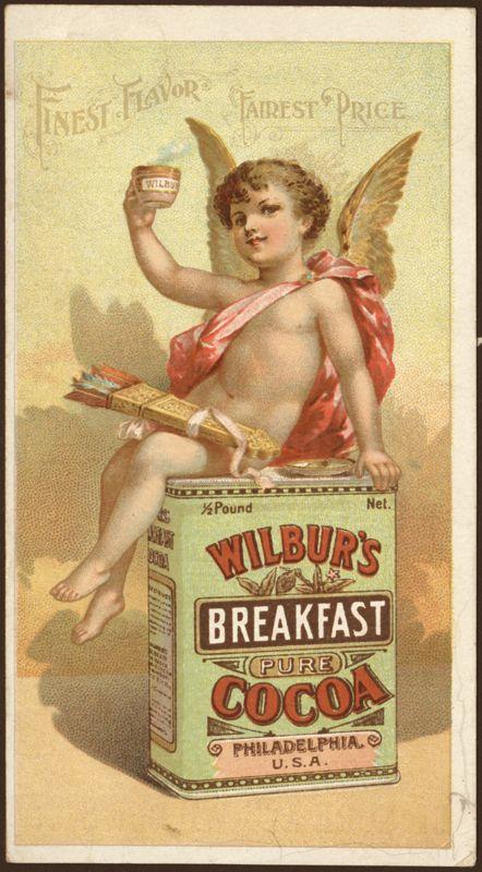 Vintage Ilustration : Cocoa vintage Ad     - Vintage tn