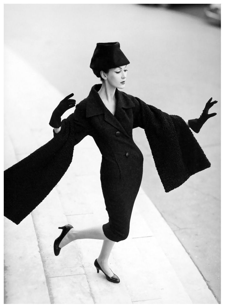 Best Vintage Photography Dovima In Christian Dior By