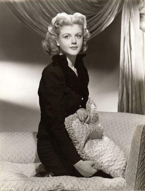 Vintage Hairstyle Angela Lansbury 1945 Vintage Tn Leading