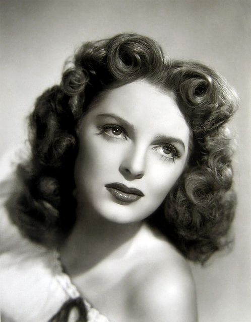 Vintage Hairstyle Julie London 1945 Vintage Tn Leading