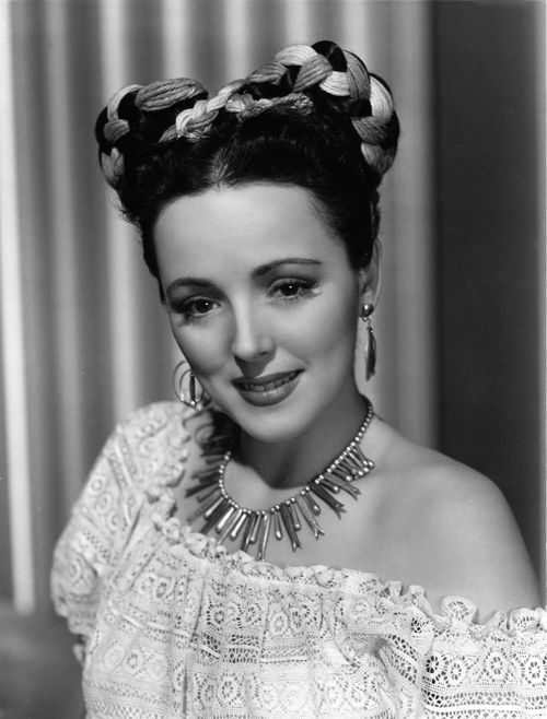 Vintage Hairstyle Lina Romay 1945 Vintage Tn Leading Vintage