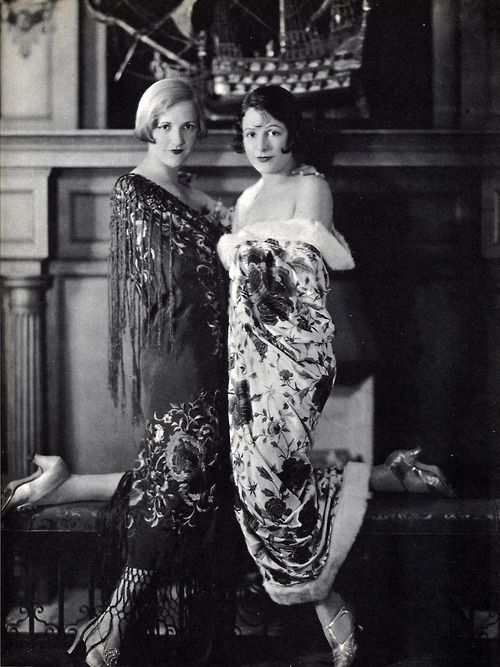 Black White Vintage Photography Constance And Norma Talmadge